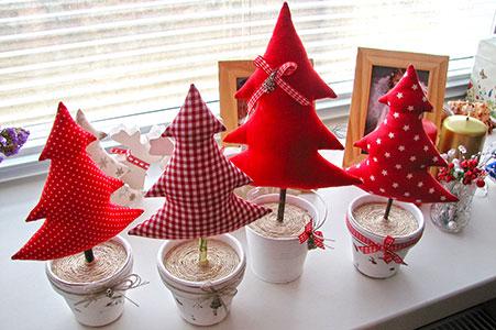 Украшение для дома новогодние своими руками - Meri30.ru